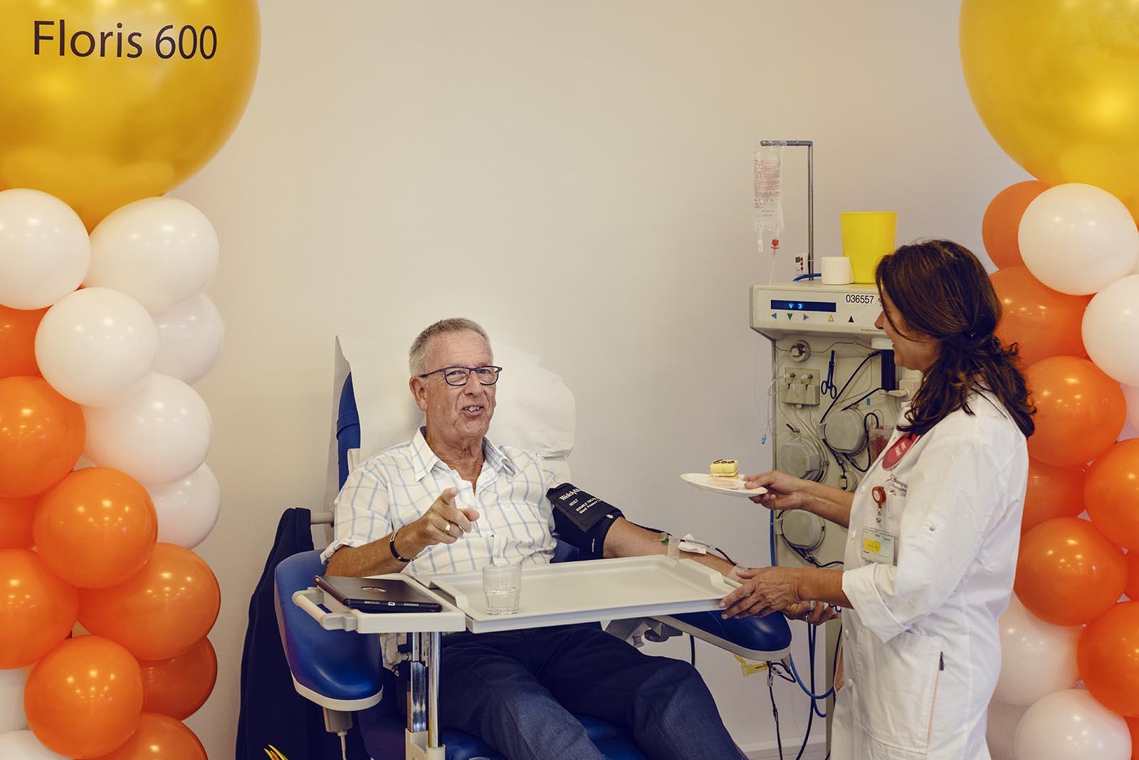 UNIEK: Floris Langendam geeft 600 keer